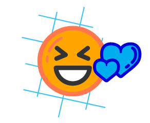 Emoji Theme Smiley with a heart